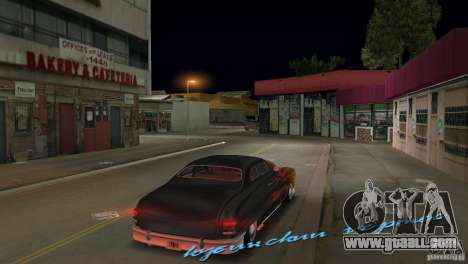 Cuban Hermes HD for GTA Vice City back left view