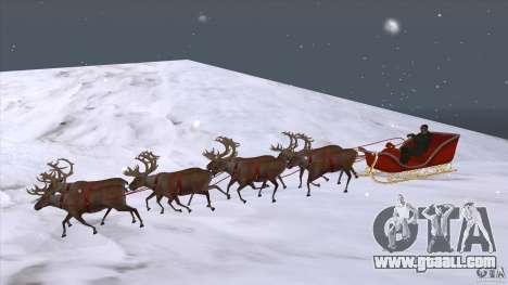 Does Santa's team for GTA San Andreas
