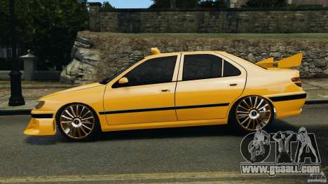 Peugeot 406 Taxi for GTA 4 left view