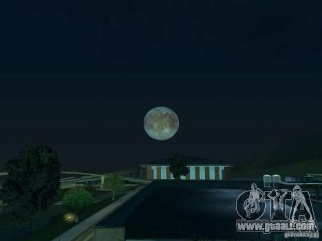 Moon: Europe for GTA San Andreas