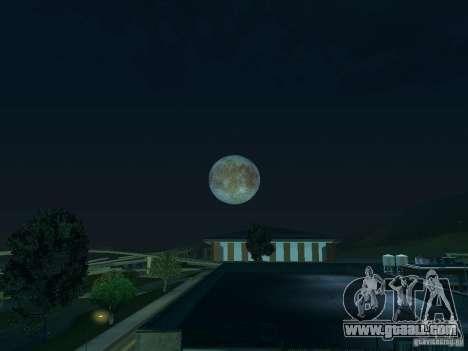 Moon: Europe for GTA San Andreas