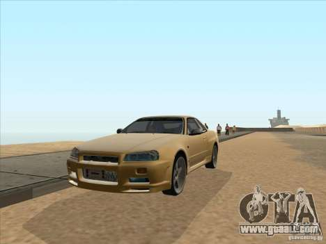 Nissan Skyline R34 VeilSide for GTA San Andreas