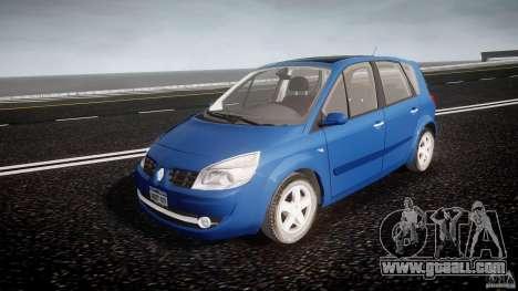 Renault Scenic II Phase 2 for GTA 4
