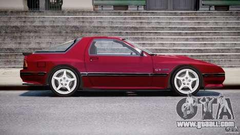 Mazda RX7 FC3S v2 FINAL for GTA 4 back view