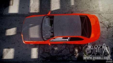 BMW E36 Alpina B8 for GTA 4 bottom view
