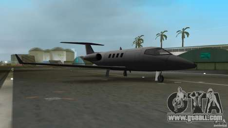 Shamal Plane for GTA Vice City left view