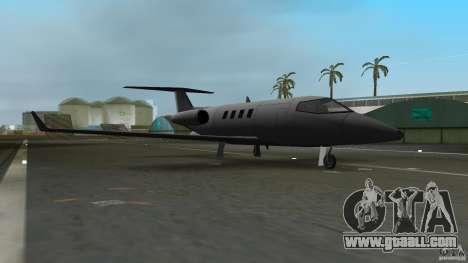 Shamal Plane for GTA Vice City left view