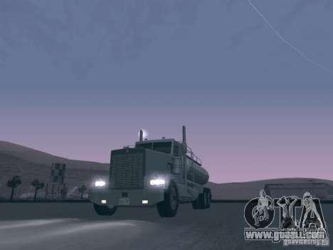 Kenworth Petrol Tanker for GTA San Andreas