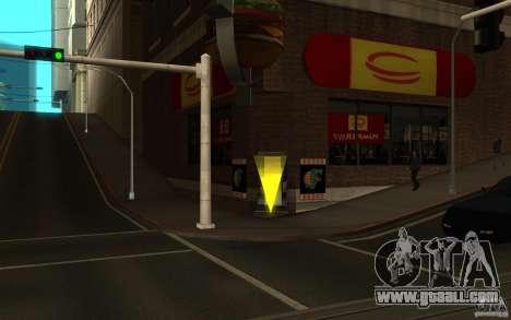 Pumper Nic Mod for GTA San Andreas second screenshot