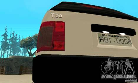Fiat Tipo 2.0 16V 1995 for GTA San Andreas side view
