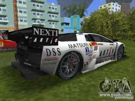 Lamborghini Murcielago R-GT for GTA Vice City left view