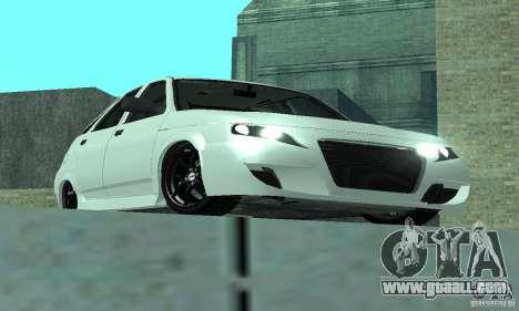 VAZ-2112 car Tuning for GTA San Andreas right view