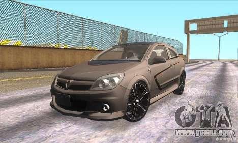 Opel Astra GTC DIM v1.0 for GTA San Andreas interior