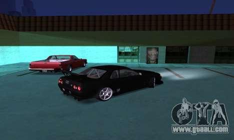 Nissan Skyline R32 GT-R for GTA San Andreas left view