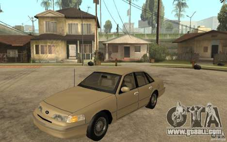 Ford Crown Victoria LX 1992 for GTA San Andreas
