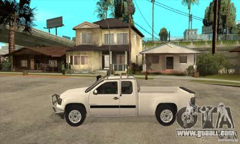 GMC Sierra for GTA San Andreas left view