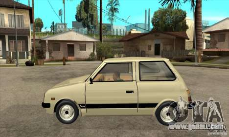 Daihatsu Cuore 1981 for GTA San Andreas left view