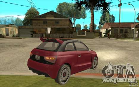 Audi A1 Clubsport Quattro for GTA San Andreas right view