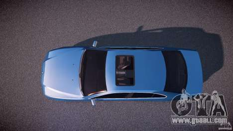BMW 530I E39 e63 white wheels for GTA 4 right view