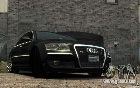 Audi A8 L 6.0 Quattro (Transporter 3) for GTA 4 left view