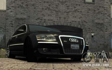 Audi A8 L 6.0 Quattro (Transporter 3) for GTA 4 left view