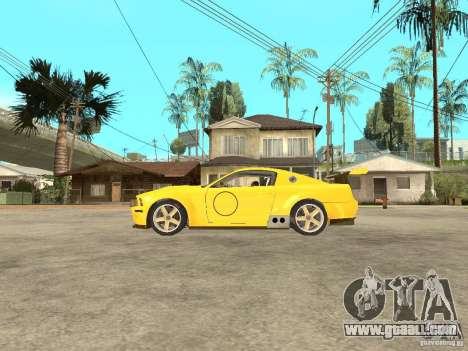 Ford Mustang GT-R for GTA San Andreas left view