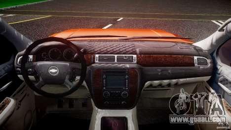 Chevrolet Silverado 2011 for GTA 4 back view