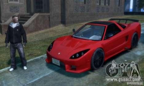 Acura NSX Veilside Fortune v 1.0 for GTA 4