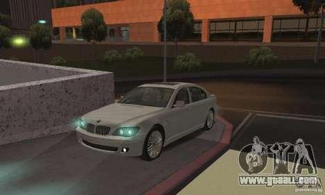 Neon color lamps for GTA San Andreas second screenshot