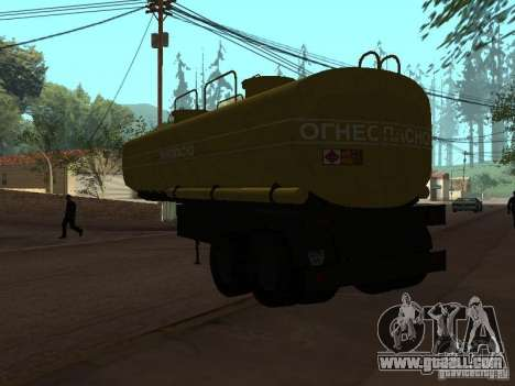 tank PPC for GTA San Andreas left view