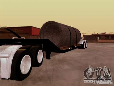 Trailer, Peterbilt 378 Custom for GTA San Andreas