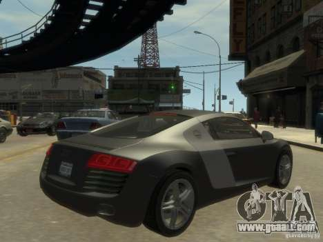 Audi R8 NFS Shift for GTA 4 right view