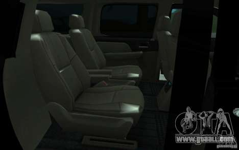 Chevrolet Suburban 2010 for GTA San Andreas right view