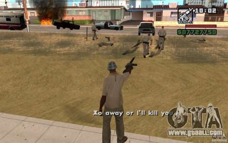 The Threat Of for GTA San Andreas second screenshot