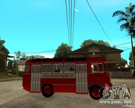 Firefighter PAZ 672 for GTA San Andreas right view