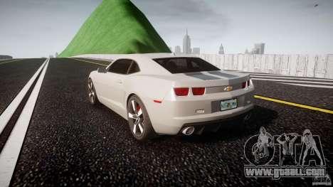 Chevrolet Camaro for GTA 4 back left view