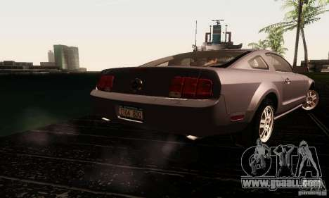 Ford Mustang GT Tunable for GTA San Andreas side view