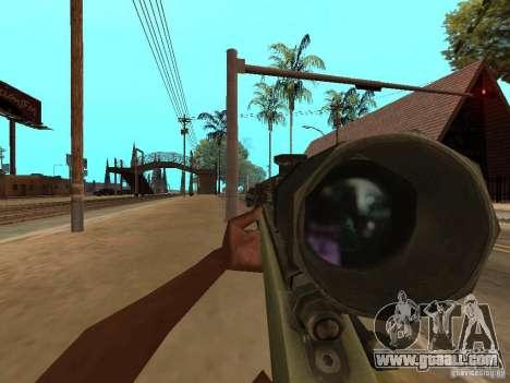 M40A3 for GTA San Andreas third screenshot