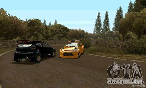 Ford Fiesta Rally for GTA San Andreas right view