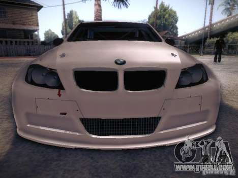 BMW 320SI Drift for GTA San Andreas upper view