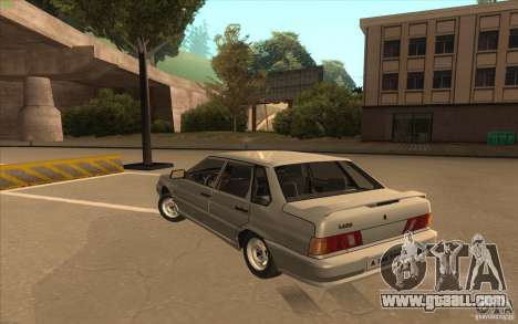 VAZ 2115 Stock v1.0 for GTA San Andreas back left view