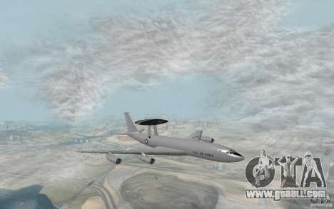 Boeing E-3 Sentry for GTA San Andreas