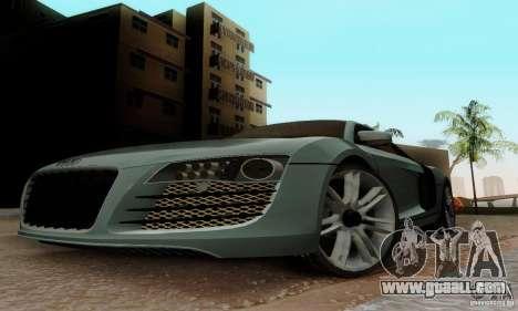 Audi R8 LeMans for GTA San Andreas