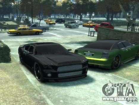 Civilian Buffalo DUB Edition v3.0 for GTA 4 back left view
