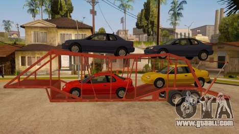 Semi-trailer Truck for GTA San Andreas left view