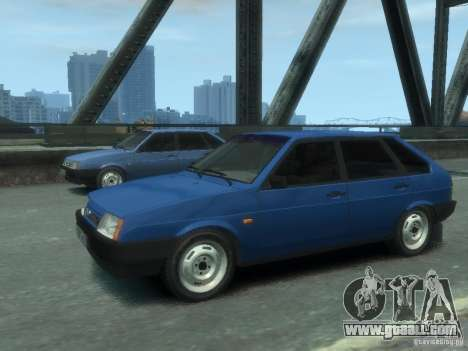 VAZ 21093i the complete tuning for GTA 4