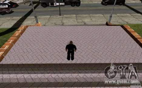 The new basketball court for GTA San Andreas eighth screenshot