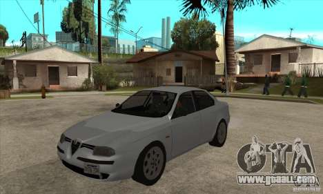 Alfa Romeo 156 2,5V6 2000 for GTA San Andreas