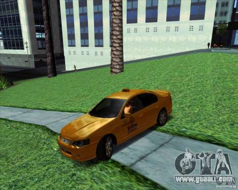 Ford Falcon XR8 Taxi for GTA San Andreas