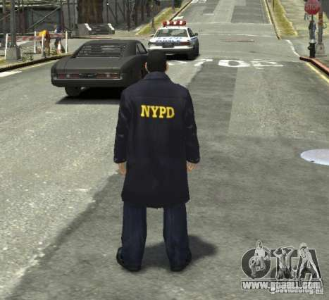 Ultimate NYPD Uniforms mod for GTA 4 fifth screenshot